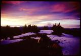 Goosenest summit sunrise