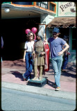 Cody and Kathy in Disneyland 1979