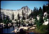 Kalmia Lake  and Thompson Peak