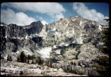 Mirror Lake,  Mirror Pass, and Caesar Peak.