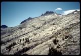 Sawtooth Peak near Twin Pine pass