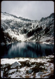 Alpine Lake and the first snow