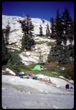 Sawtooth Peak 's eastern terraces camp