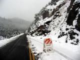 Hwy 96 big rockslide