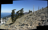 Marble Mountain summit panorama