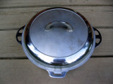 Griswold Nickel Hinged Lid  Deep Fryer