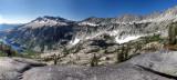 Sapphire and Mirror Lake Panorama