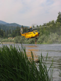 Skikorsky S-61 and 1800 gallons of water
