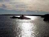 Jamestown, RI Harbor at Dusk