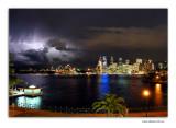 Lightning spectular over Sydney Harbour (new)