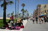 Ocean Front Walk, Venice Beach in LA