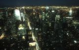 View North from Empire State Building at Night