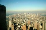 View Uptown Manhattan from World Trade Center