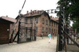 Entrance to Auschwitz
