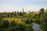 Suzdal and Mzhara River