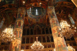 Inside the Church of the Annunciation, Moscow