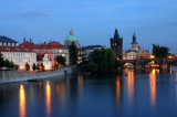 Vltava River at Twilight, Prague