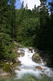 Waterfall at Vysoke Tatry