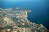 Benidorm from the air