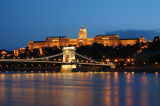 Chain Bridge and Royal Palace, Budapest