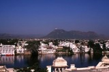 Buildings by Lake Picchola, Udaipur