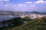 Overlooking Lake Picchola and Udaipur