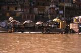 People Besides the Ganges River, Varanasi