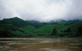 Green Hills Beside the Mekong River