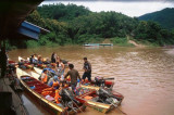 Speed Boats on the Mekong River