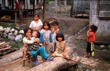 Village Children near Luang Prabang