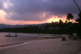 Chaweng Beach at Sunset