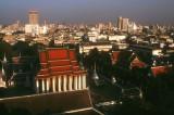 Old and new buildings, Bangkok