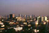 Bangkok highrise from Golden Mount