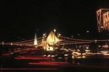 Traffic chaos at night, Bangkok