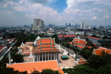View East from Golden Mount, Bangkok