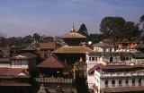 Pashupatinath rooftops, Kathmandu