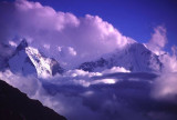 Clouds Rising Over Khumbu Valley