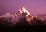 Ama Dablam in Full Moonlight