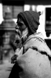 Bearded Old Man in Kathmandu
