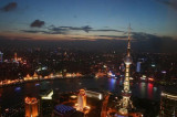Shanghai twilight from Jinmao Tower