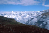 Clouds above the Colca Canyon