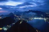 Rio de Janeiro by Night from Sugar Loaf