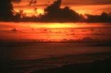 Sunset at Sigatoka sand dunes