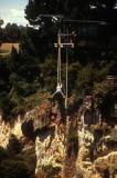 Bunjy jump over Waikato Gorge, Taupo