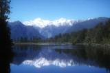 Lake Reflections of Mount Cook and Tasman