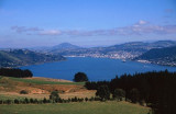 Dunedin from Otago Peninsula