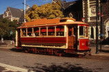 A tram in Christchurch