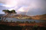 Rainbow over Loch Torridon