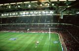 Wales v England, Millenium Stadium in Cardiff