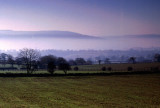 Winter Mist in the Wharfe Valley